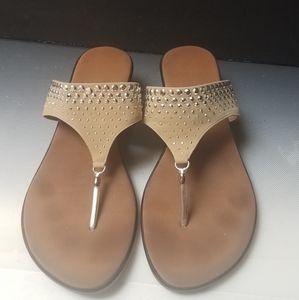 onex  epr studs sandals 2 inch wedge
